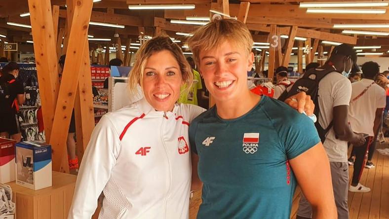 Zofia Klepacka i Katarzyna Zillmann