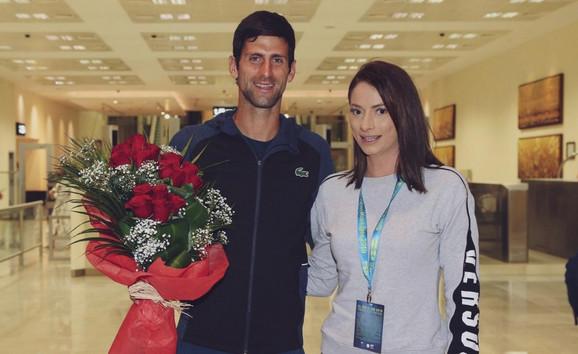 Novak Đoković i Marina Zrilić