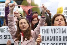 Irska, protest