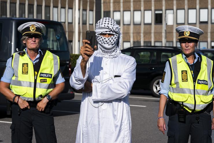 Burka, Danska, zabrana