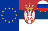 evropska unija srbija rusija zastave01 foto RAS Srbija