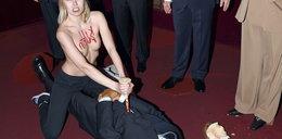 Putin zabity w Paryżu! Dostał cios w serce od kobiety z Femen