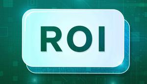 Return on investment, or ROI, is a widely used financial ratio that measures the profit or loss from an investment relative to the amount of money initially put into it.