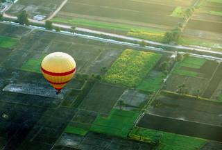 Egipt: Spadł balon z turystami; jedna osoba nie żyje