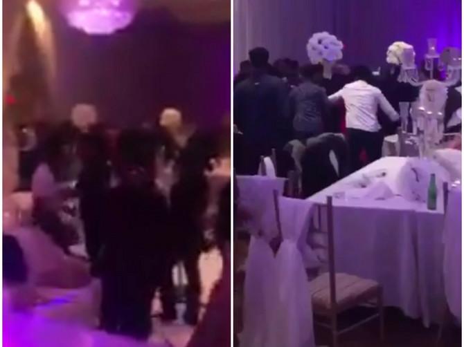 Venčanje je bilo bajkovito, a onda je ušetao MLADIN BIVŠI i podelio gostima KOVERTE: Videli su ŠTA je u njima i nastala je OPŠTA TUČA