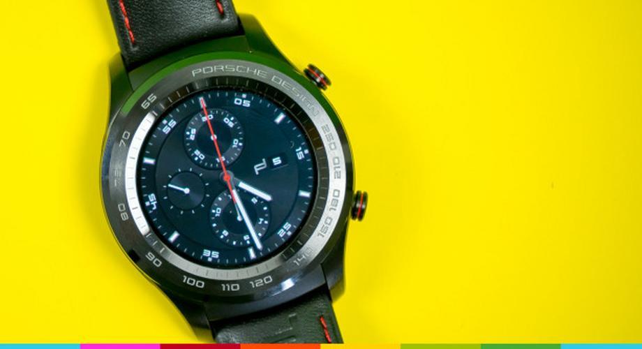 Smartwatch P9820: außen Porsche Design, innen Huawei