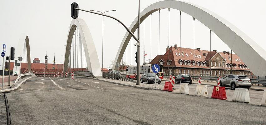 Uwaga na zmiany w centrum Gdańska. Zamykają starą nitkę wiaduktu Biskupia Górka!