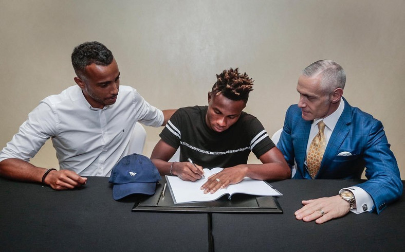 Roc Nation Sports have partnered with Chukwueze's original management as they try to expand to Africa  (Twitter/Roc Nation Sports)
