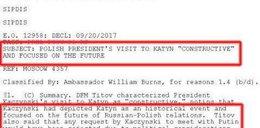 Wyciekła depesza o spotkaniu Kaczyńskiego z Putinem