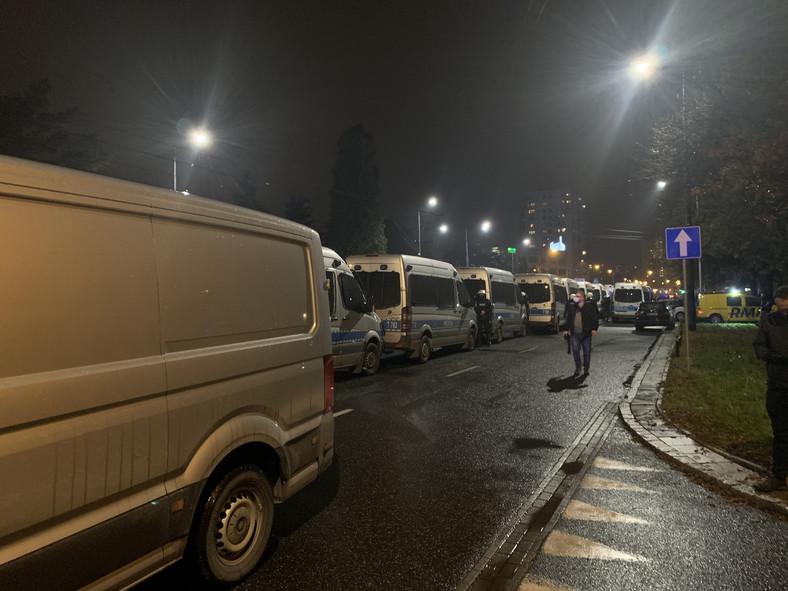 Protesty przeciwko wyrokowi TK w Warszawie, fot. Krzysztof Jedlak