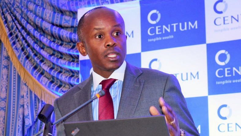Centum Investment chief executive officer James Mworia.