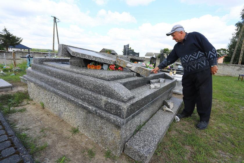 Trąba powietrzna zniszczyła cmentarz