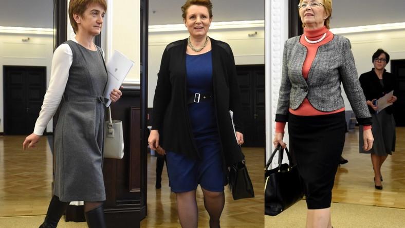 Najważniejsze kobiety w polskiej polityce nie radzą sobie z dopasowaniem stroju do sylwetek i aktualnych trendów.