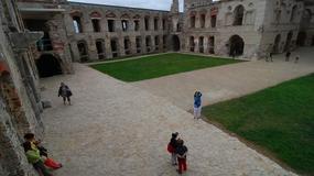 Zabezpieczanie ruin zamku Krzyżtopór już prawie zakończono
