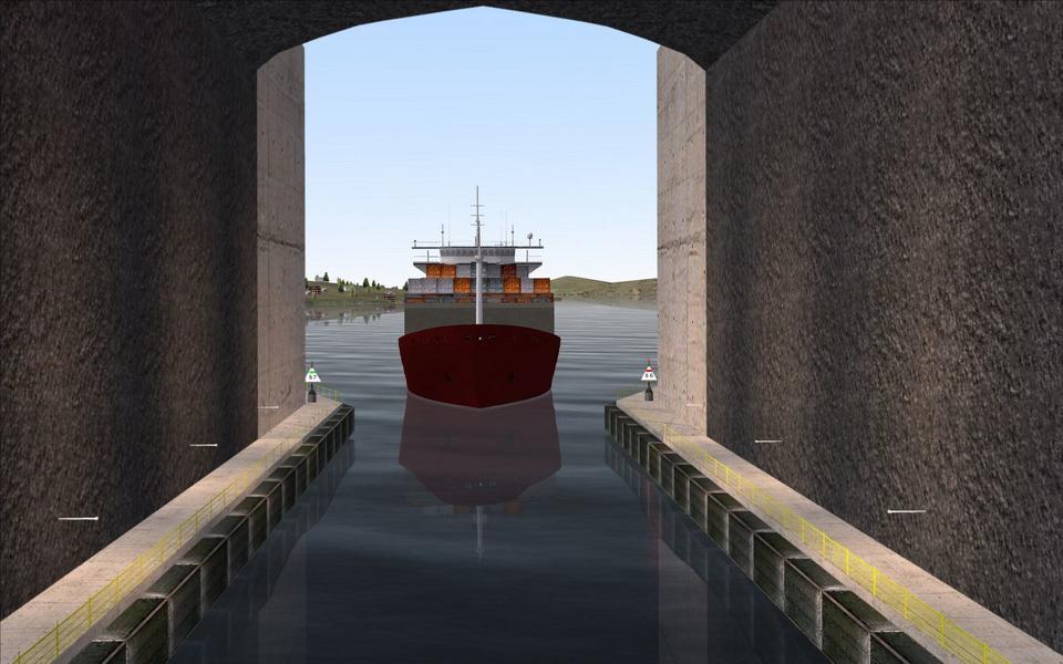 Głębokość wody w kanale wyniesie 12 m