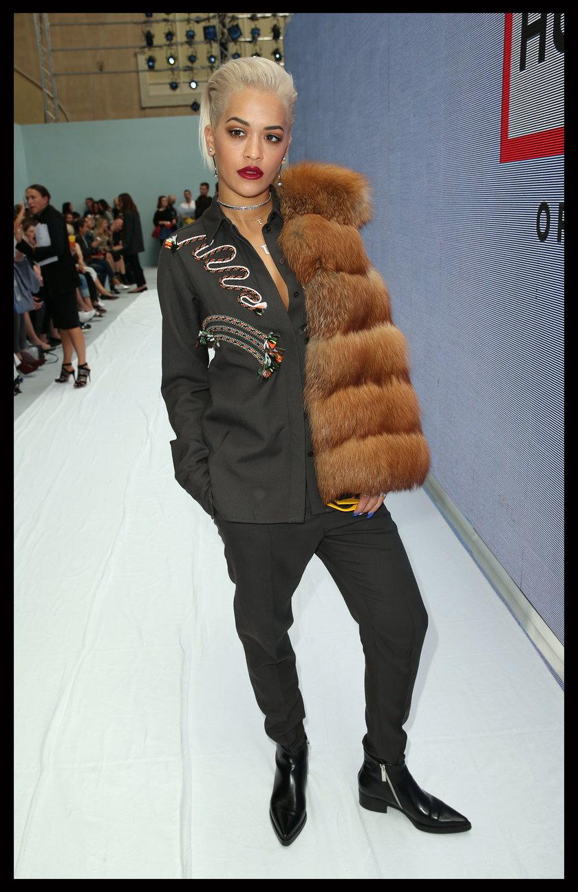 Gwiazdy na London Fashion Week 2014