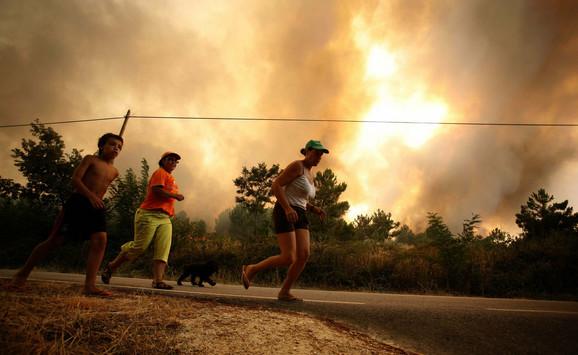 Požar uPortugaliji
