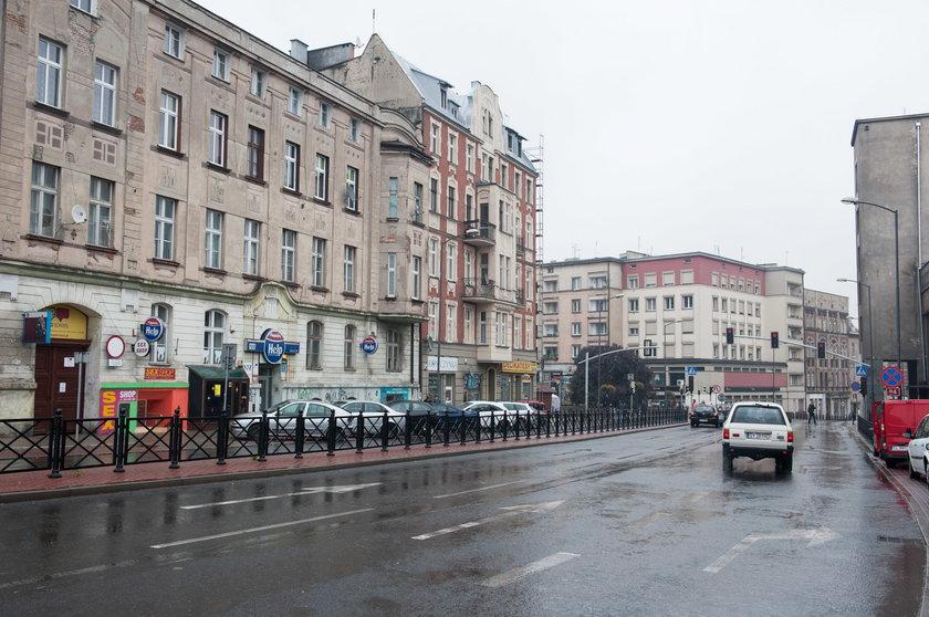 Ul. Dworcowa w Bytomiu