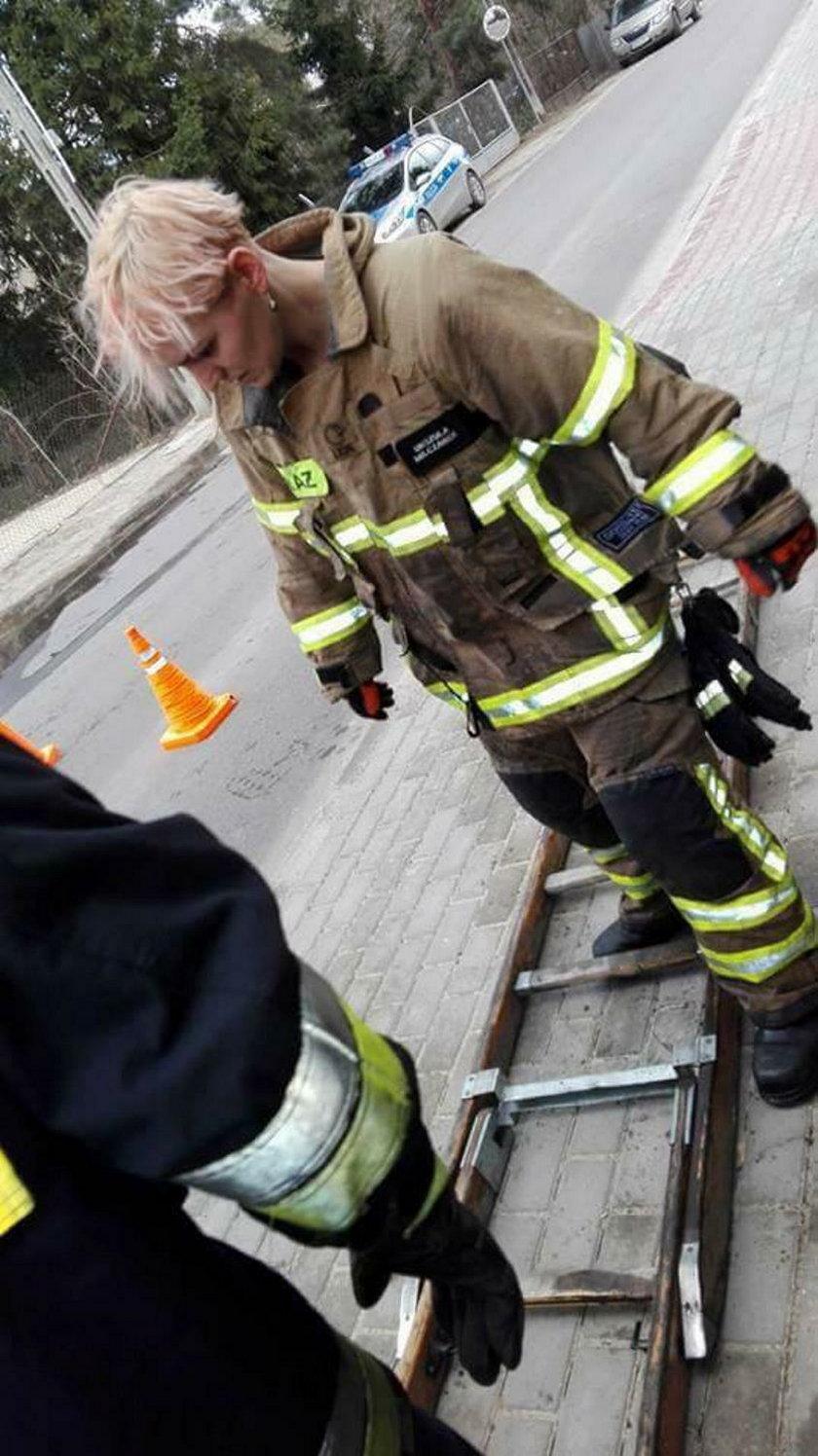 Strażacy-ochotnicy z Milanówka zostali okradzeni przed wyjazdem do Rytla