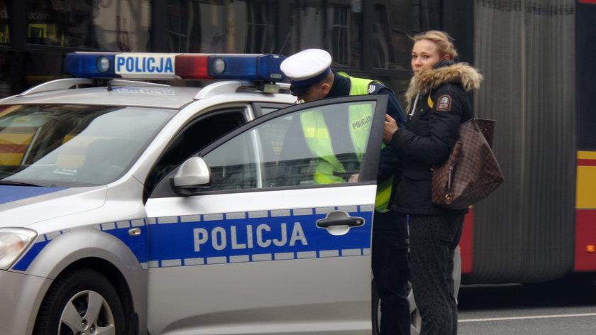 Maja Bohosiewicz z policją