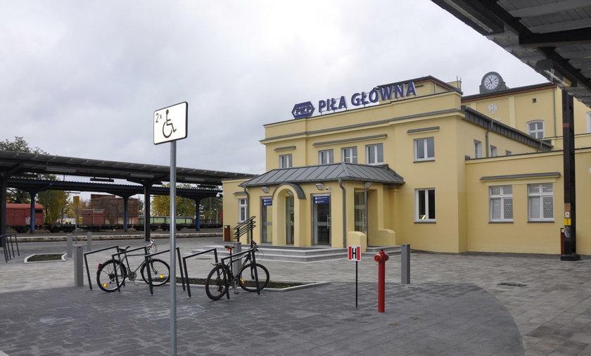Nowy dworzec w Pile