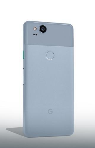 """Telefon je diostupan u tri boje a jedna od njhi je """"Kinda Blue"""""""