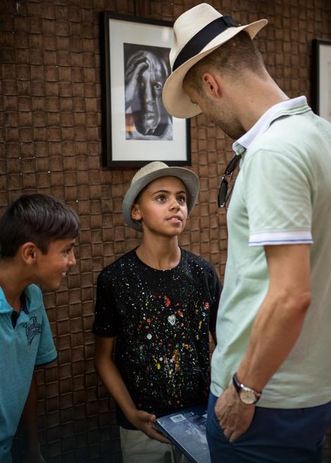Farhad je zbog izuzetnog talenta poneo nadimak Mali Pikaso
