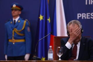 Prezydent Milosz Zeman jest w stanie stabilnym, ale nie spotka się z premierem