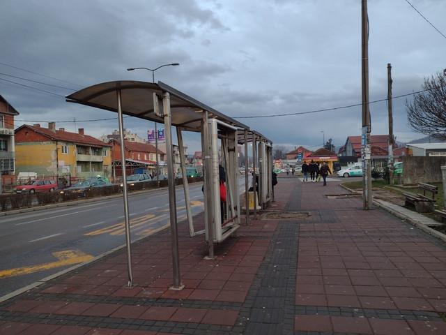 Autobusko stajalište na Trošarini