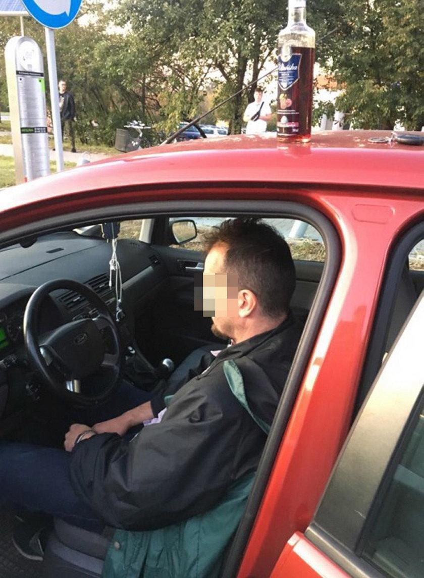 Pijany kierowca na ulicach Lublina