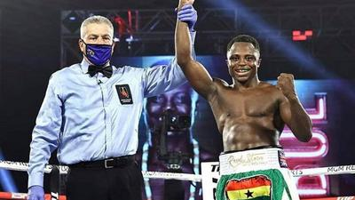 'The last 14 months have been tough' – Dogboe grateful after comeback victory