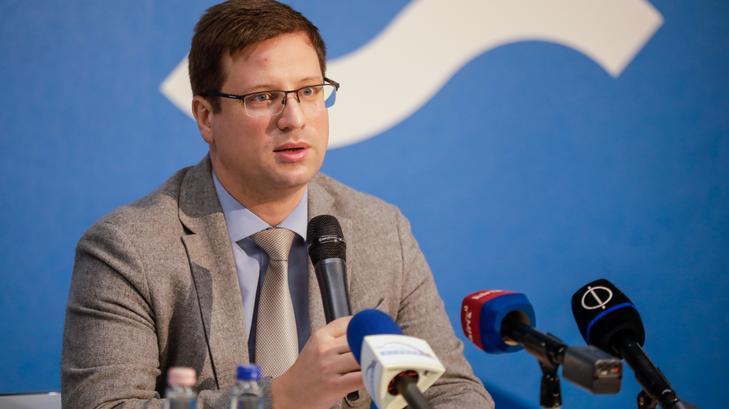 Gulyás Gergely Miniszterelnökséget vezető miniszter szerint nem kizárt, hogy újra be kell majd oltani mindenkit /Fotó: MTI Rosta Tibor