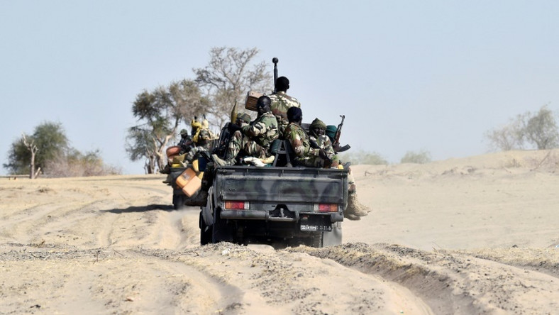 Nigerian soldiers on duty in the northeast (AFP)