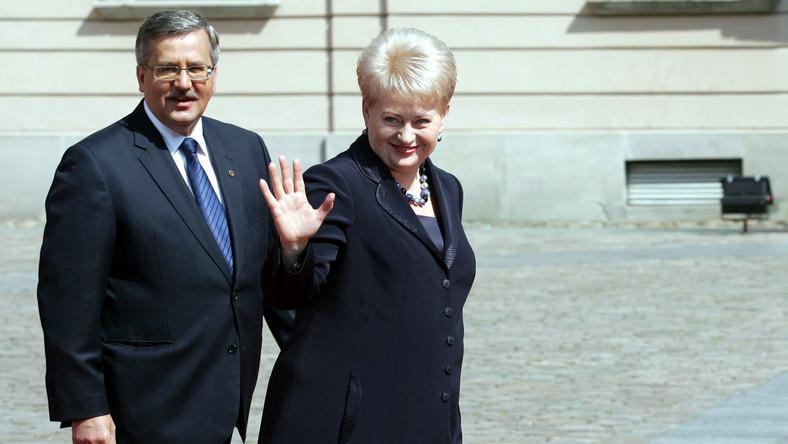 Dalia Grybauskaite odrzuca zaproszenie Komorowskiego i nie przyjedzie do Warszawy na szczyt Polski i państw bałtyckich
