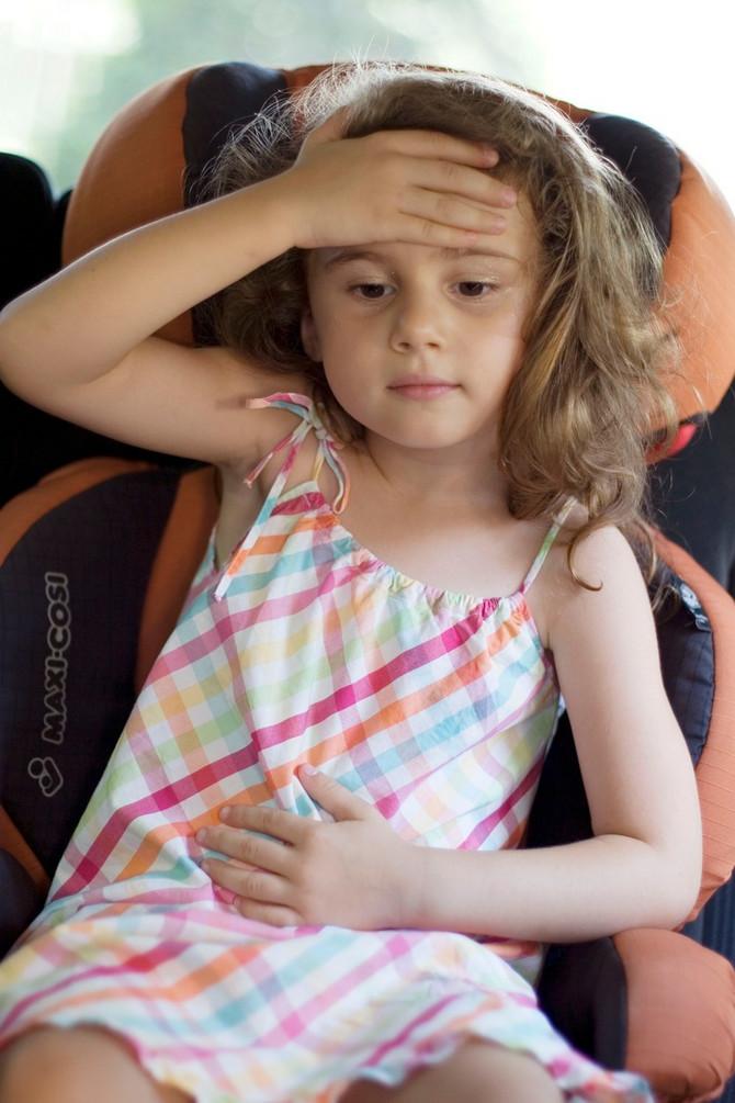 Obratite pažnju da li dete ima povišenu teelsnu temperaturu