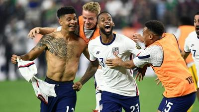 USA stun Mexico in extra time to win Gold Cup final
