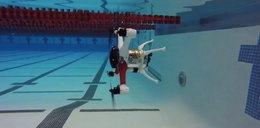 Jedyny taki dron na świecie. Nurkuje, pływa i lata! Jest film