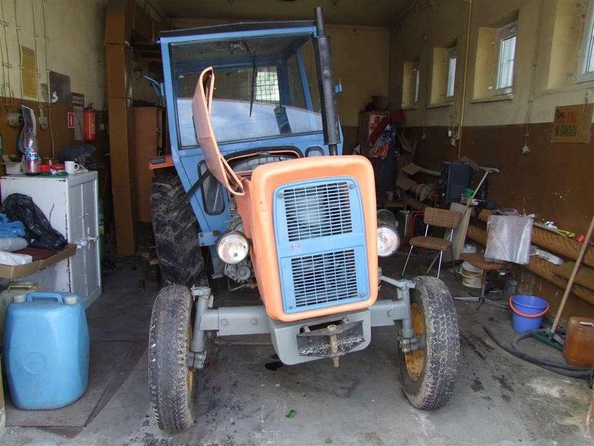 Atak pijanych traktorzystów