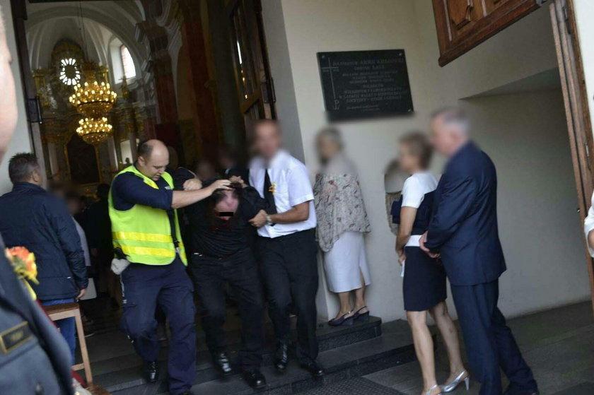 Sprawca ataku gazem na burmistrza zatrzymany