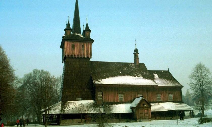 Kościół przy ul. Panieńskich Skał