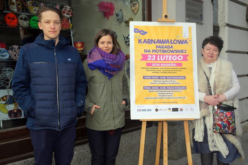 Karnawałowa parada na Piotrkowskiej już 23 lutego