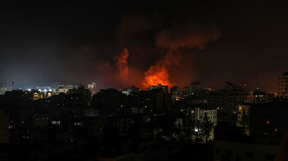 W Strefie Gazy doszło do kolejnego ataku lotnictwa Izraela