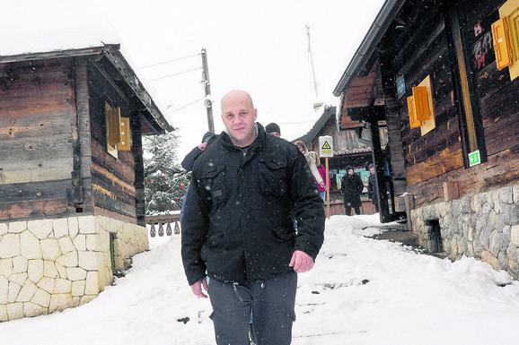 Stribor Kusturica juče na Mećavniku dočekuje goste
