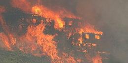 Gigantyczny pożar w Chile. Zniszczonych ponad 120 domów