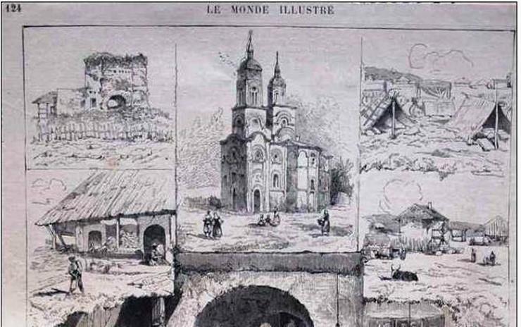 Krusevac La Monde Ilustre 1876