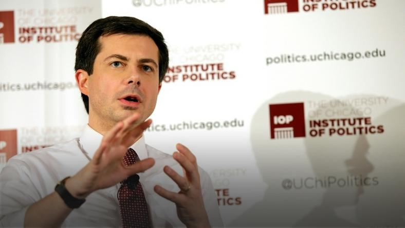 Pete Buttigieg is the two-term mayor of his hometown of South Bend, Indiana