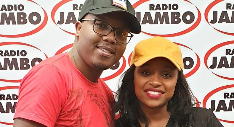 Abel Mutua with Massawe Japanni(Instagram)