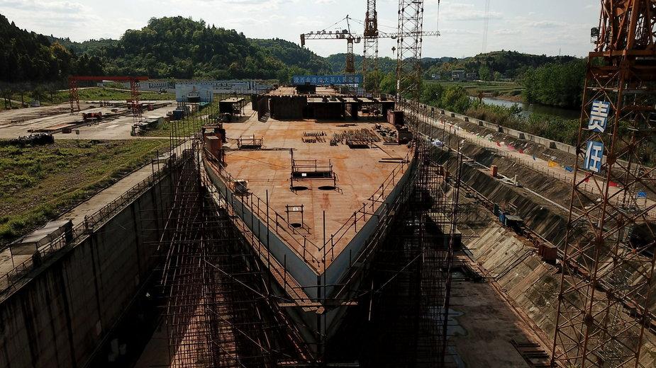W Chinach powstaje wielka replika statku Titanic