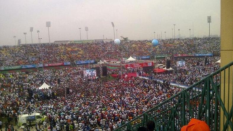 Teslim Balogun Stadium APC Rally (NigerianEye)
