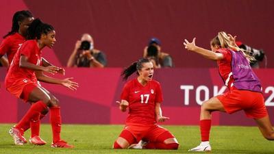 'It sucks': Canada shock USA to reach Olympic women's football final